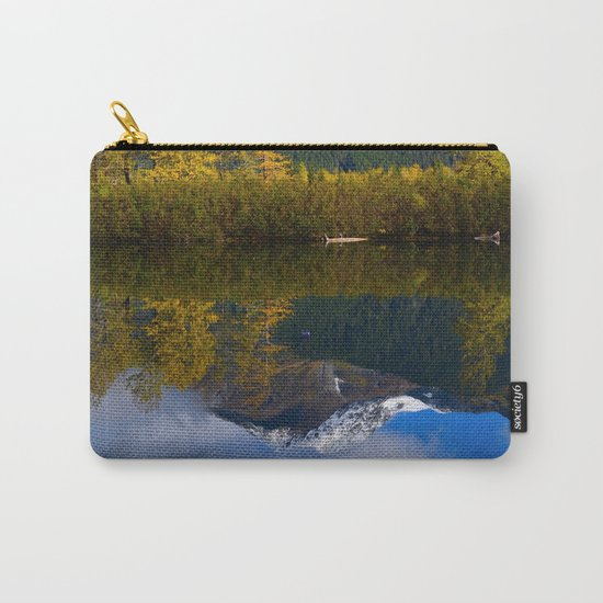 Fall Reflection - Alaska Carry-All Pouch