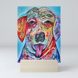 Laughing Labrador Mini Art Print