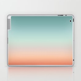Color gradient background - fading sunset sky colors Laptop & iPad Skin