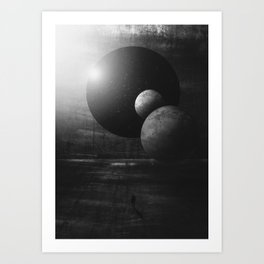 NightShift_01 Art Print