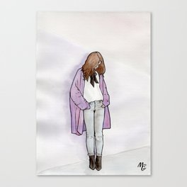 Cozy Cardigan Canvas Print