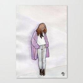 Cozy Cardigan Canvas Print