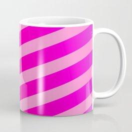 Pink Design Stripes Coffee Mug