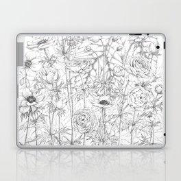Anemone & Ranunculus Laptop & iPad Skin