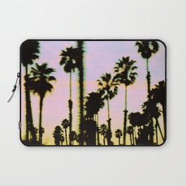 California Dreaming Palm Trees Sunset Laptop Sleeve