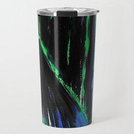 Dark Floors - Turquoise Palette  Travel Mug