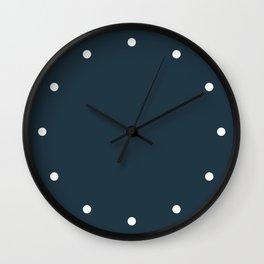 Wall Clock Dots Storm Wall Clock