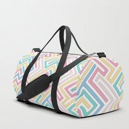 Jigsaw Maze Duffle Bag