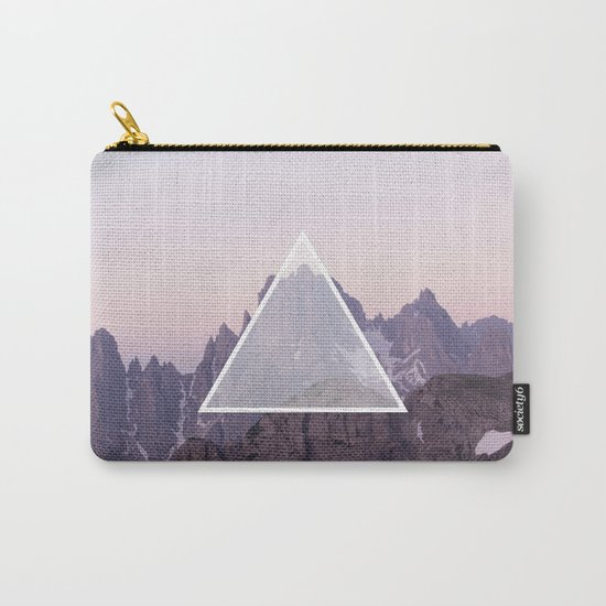 Mountain Triangle Carry-All Pouch