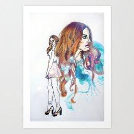 Groupie Incognito Art Print