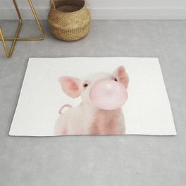Pig Rugs For Any Room Or Decor Style Society6