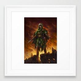 Assassin Link Framed Art Print