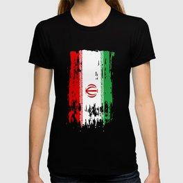 IR IRN Iran Flag T-shirt