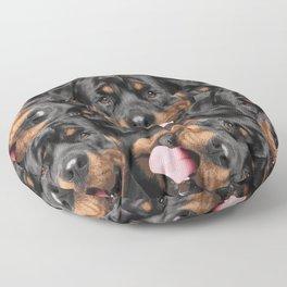 Rottweiler  - Metzgerhund Floor Pillow