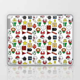 Super Mario Pattern Color Laptop & iPad Skin