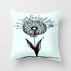 It's Just a Feeling Throw Pillow