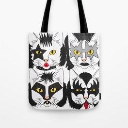 Cat Kiss Tote Bag