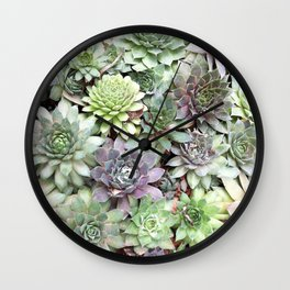 Desert Flower II Wall Clock