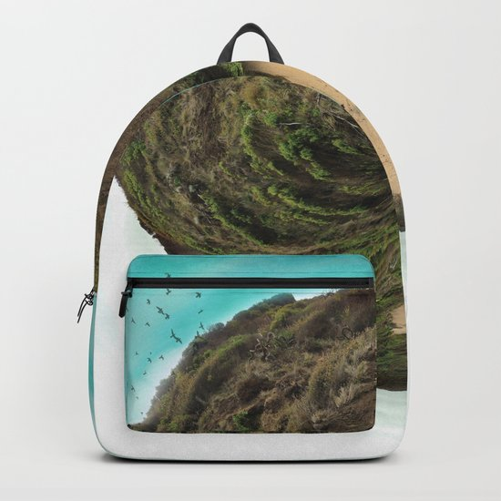 Bells Beach tiny world Backpack