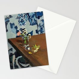 Henri Matisse - Pansies on a Table - Exhibition Poster Stationery Cards