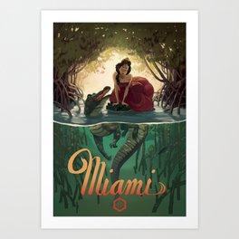 Miami Art Print