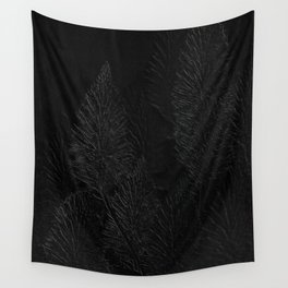 Embossed Leaves Wall Tapestry