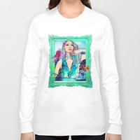pisces Long Sleeve T-shirts featuring Pisces by Sara Eshak