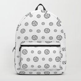 Volleyball sport pattern outline Backpack