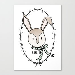 Remarkable Rabbit Canvas Print