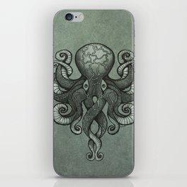 Grey Dectapus iPhone Skin