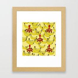 Banana Clan Framed Art Print