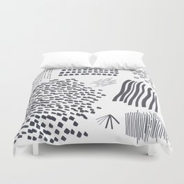 Abstract Marks Nr 2 Duvet Cover
