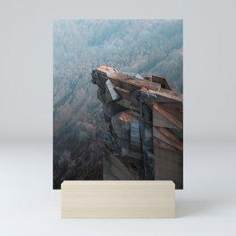 Transformers alike socialist monument Mini Art Print