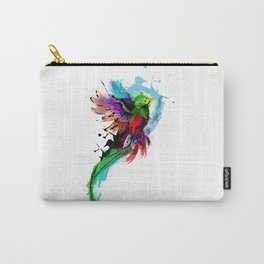 Watercolor Quetzal  Carry-All Pouch