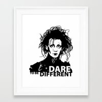 edward scissorhands Framed Art Prints featuring Edward Scissorhands by Mad42Sam