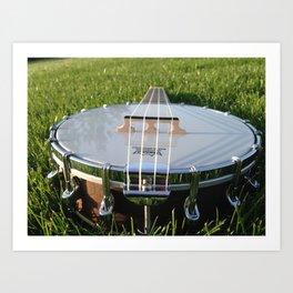 Banjo Uke 2 Art Print