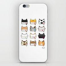 Convo Cats! iPhone & iPod Skin