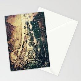 Paris Rain Stationery Cards