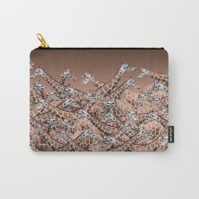 Sea of Giraffes Carry-All Pouch