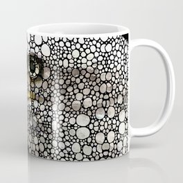 Bald Eagle Art - Eagle Eye - Stone Rock'd Art Coffee Mug