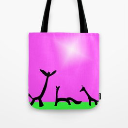Les Animaux No. 3 of Series 4 Tote Bag
