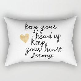Keep Your Head Up Rectangular Pillow
