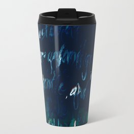 """""""Conquest of the Useless"""" by Werner Herzog Print (v. 9) Travel Mug"""