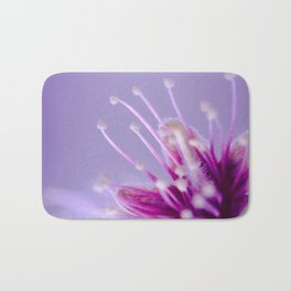Purple Bloom Bath Mat