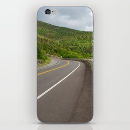 Whiteface Mountain Road iPhone Skin