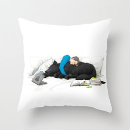 Student Life - part 2 Throw Pillow