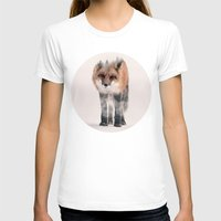 kitsune T-shirts featuring hondo kitsune by Peg Essert