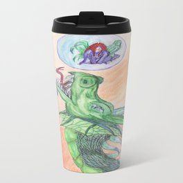 Dragon's new toy Travel Mug