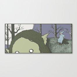 Trollfather Canvas Print