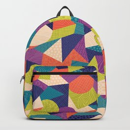 Trendy Abstract Geo Backpack